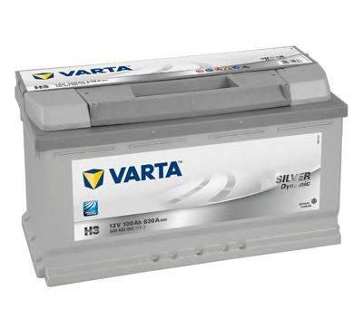 VARTA 6004020833162 Стартерная аккумуляторная батарея; Стартерная аккумуляторная батарея