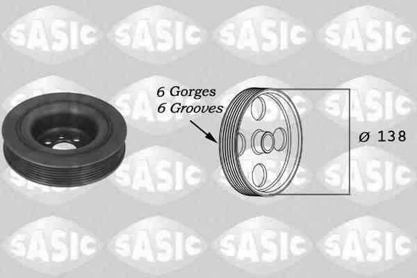 SASIC 9001800 Ременный шкив, коленчатый вал