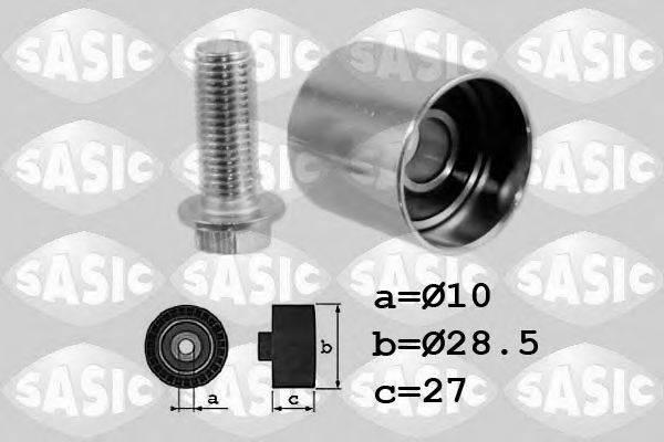 SASIC 1706062 Паразитный / Ведущий ролик, зубчатый ремень