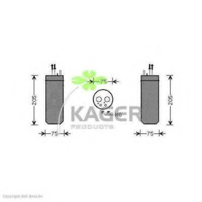 KAGER 945021 Осушитель, кондиционер