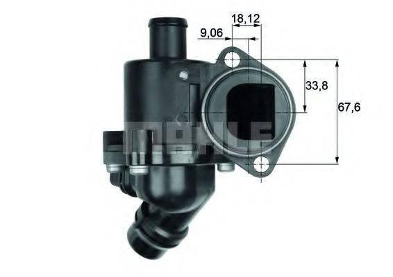 MAHLE ORIGINAL TM3100 Термостат, охлаждающая жидкость