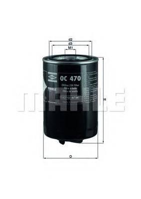 MAHLE ORIGINAL OC470 Масляный фильтр
