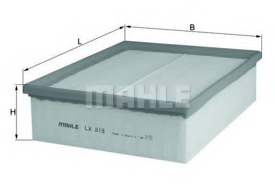 MAHLE ORIGINAL LX819 Воздушный фильтр
