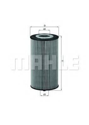 MAHLE ORIGINAL OX358D Масляный фильтр