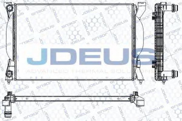 JDEUS RA0010240 Радиатор, охлаждение двигателя