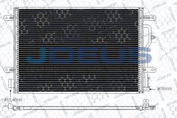 JDEUS 701M21 Конденсатор, кондиционер