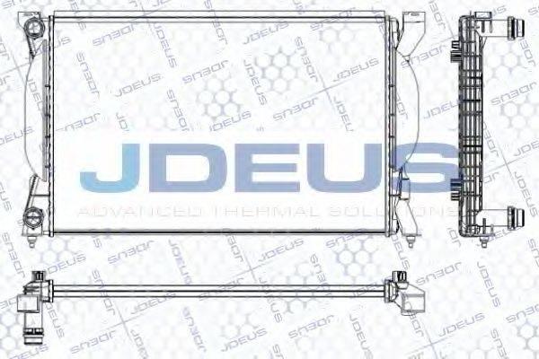 JDEUS RA0010350 Радиатор, охлаждение двигателя