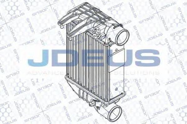 JDEUS RA8010200 Интеркулер
