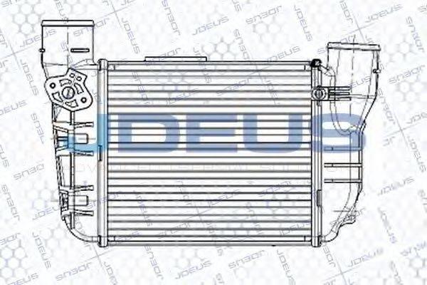 JDEUS RA8010290 Интеркулер