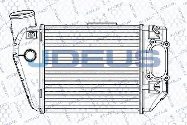 JDEUS RA8010291 Интеркулер