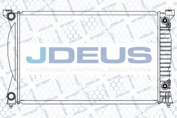 JDEUS 001M27 Радиатор, охлаждение двигателя