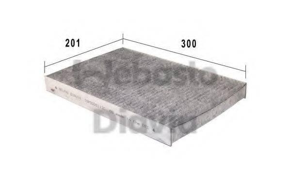 WEBASTO 82D0325112CA Фильтр, воздух во внутренном пространстве