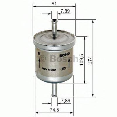 BOSCH 0450905318 Топливный фильтр