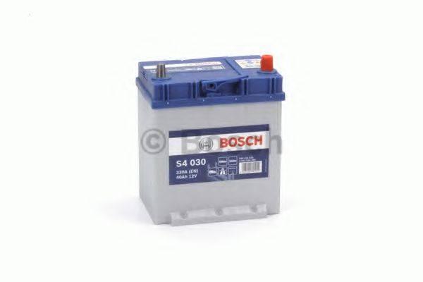 Стартерная аккумуляторная батарея; Стартерная аккумуляторная батарея BOSCH 0 092 S40 300