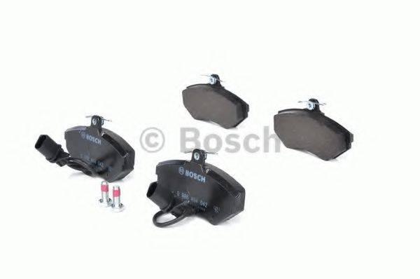 BOSCH 0986494042 Комплект тормозных колодок, дисковый тормоз