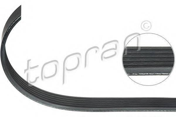 TOPRAN 110095 Поликлиновой ремень