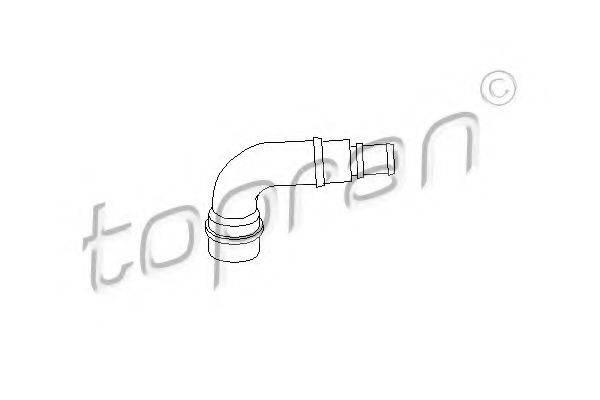 TOPRAN 111158 Шланг, воздухоотвод крышки головки цилиндра