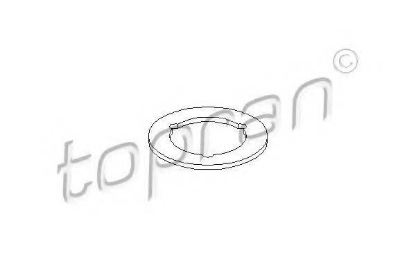 TOPRAN 109096 Прокладка, маслоналивная горловина