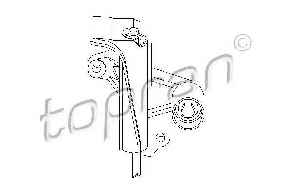 TOPRAN 109142 Устройство для натяжения ремня, ремень ГРМ