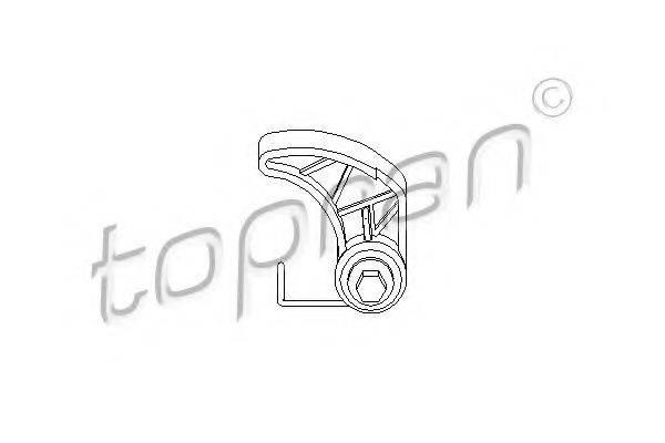 TOPRAN 109611 Натяжное устройство цепи, привод масляного насоса