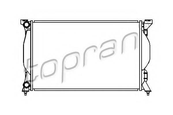 TOPRAN 110367 Радиатор, охлаждение двигателя