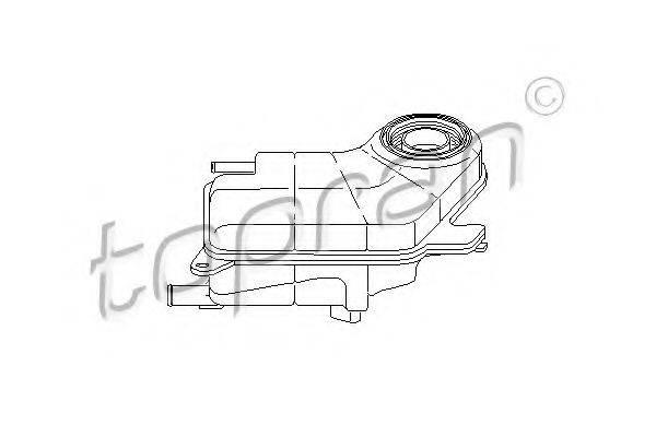 TOPRAN 109343 Компенсационный бак, охлаждающая жидкость