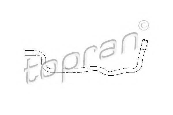 TOPRAN 111985 Шланг радиатора
