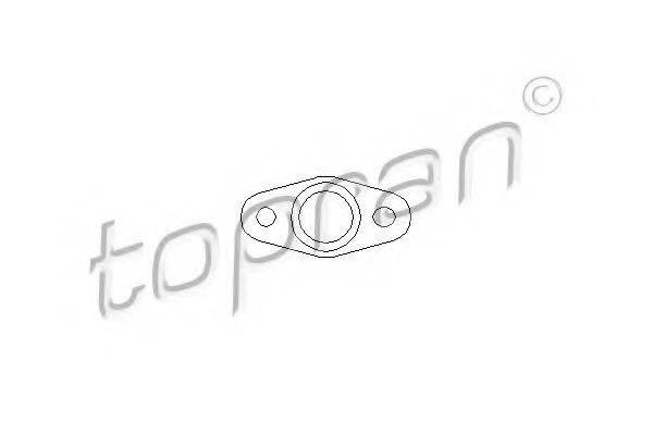 TOPRAN 111938 Прокладка, компрессор