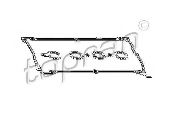 TOPRAN 101113 Комплект прокладок, крышка головки цилиндра