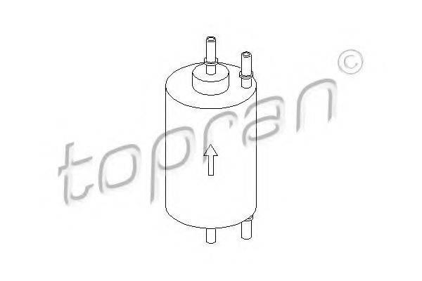 TOPRAN 109657 Топливный фильтр