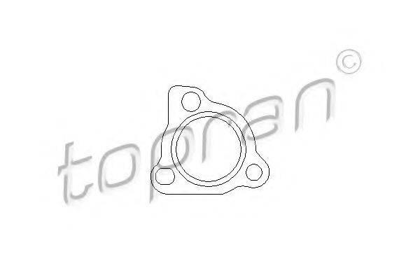 TOPRAN 109116 Прокладка, компрессор