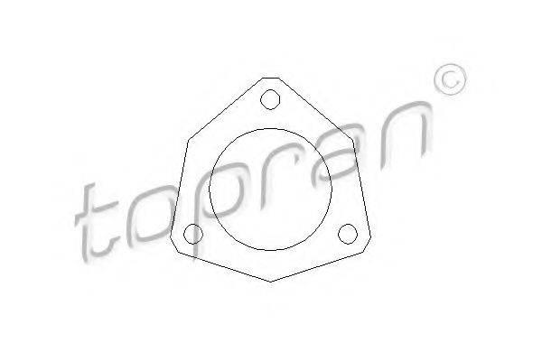 TOPRAN 107203 Прокладка, труба выхлопного газа