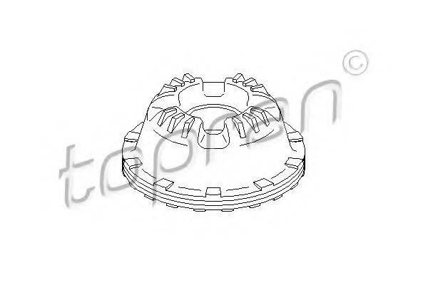 TOPRAN 110447 Опора стойки амортизатора