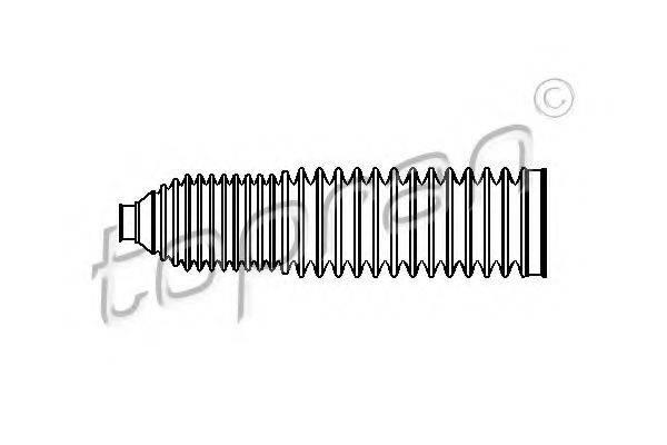 TOPRAN 110965 Пыльник, рулевое управление