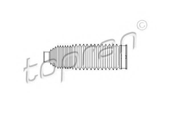 TOPRAN 110966 Пыльник, рулевое управление