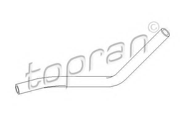 TOPRAN 111980 Гидравлический шланг, рулевое управление
