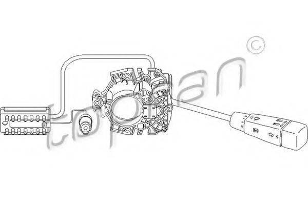 TOPRAN 401641 Выключатель на колонке рулевого управления