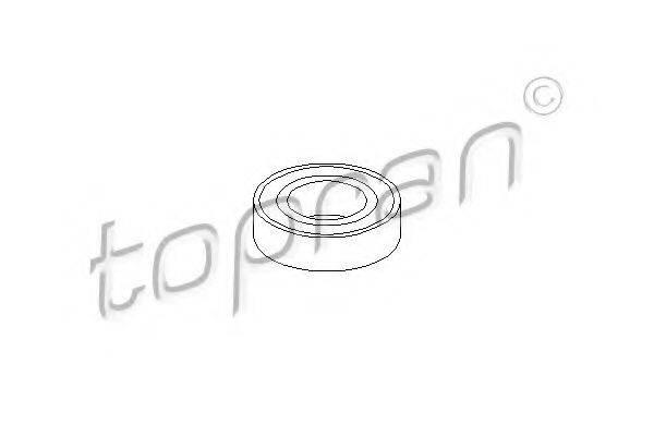 TOPRAN 402003 Подшипник, промежуточный подшипник карданного вала