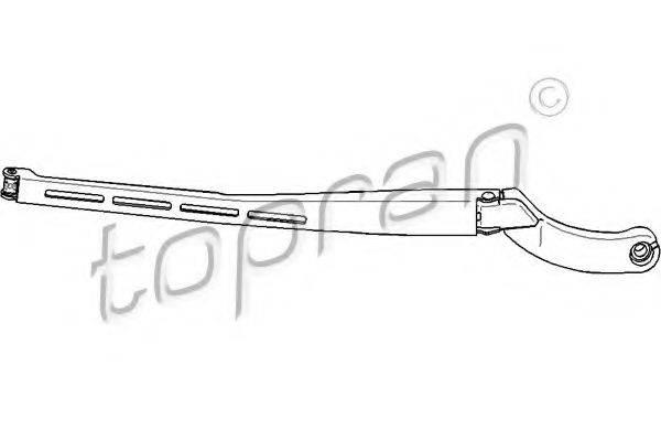 TOPRAN 113568 Рычаг стеклоочистителя, система очистки окон