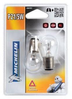 MICHELIN 008781 Лампа накаливания, фонарь сигнала тормож./ задний габ. огонь; Лампа накаливания, задняя противотуманная фара; Лампа накаливания, стояночные огни / габаритные фонари; Лампа накаливания, фара дневного освещения