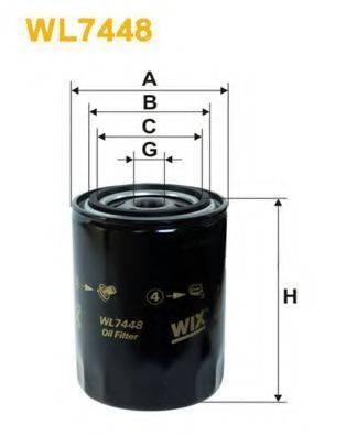 WIX FILTERS WL7448 Масляный фильтр
