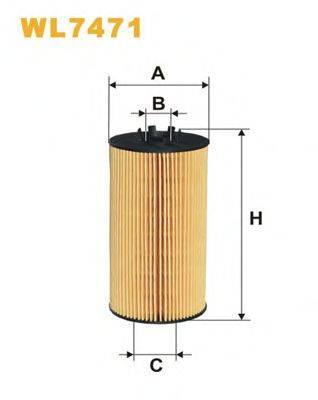 WIX FILTERS WL7471 Масляный фильтр