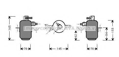 PRASCO MSD003 Осушитель, кондиционер