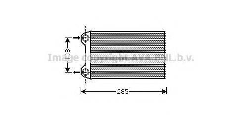 PRASCO AI6223 Теплообменник, отопление салона