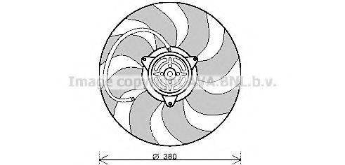 PRASCO AI7513 Вентилятор, охлаждение двигателя
