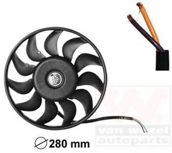 VAN WEZEL 0325745 Вентилятор, охлаждение двигателя
