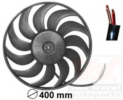 VAN WEZEL 0325747 Вентилятор, охлаждение двигателя