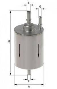UNIFLUX FILTERS XB337 Топливный фильтр