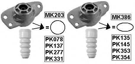 MONROE PK137 Пылезащитный комплект, амортизатор