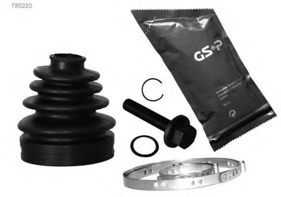 GSP 780220 Монтажный комплект, сильфон приводного вала